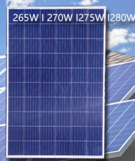 Poly solar panel 60 cells