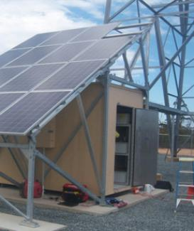 Hybrid-Grid Solar Power System