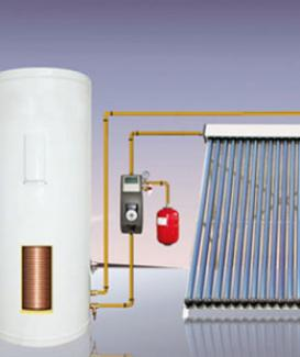 Closed Loop Solar Water Heating System