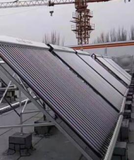 Manifold solar collector project